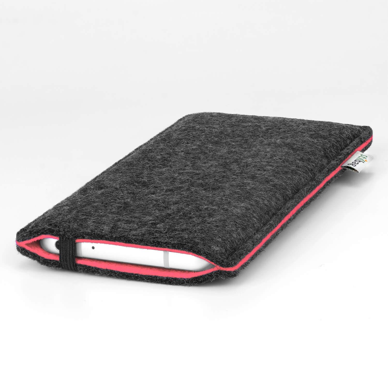 Stilbag-Feutre-Housse-FINN-mobile-Pochette-Etui-HTC-One-M8-ROUGE-COLL