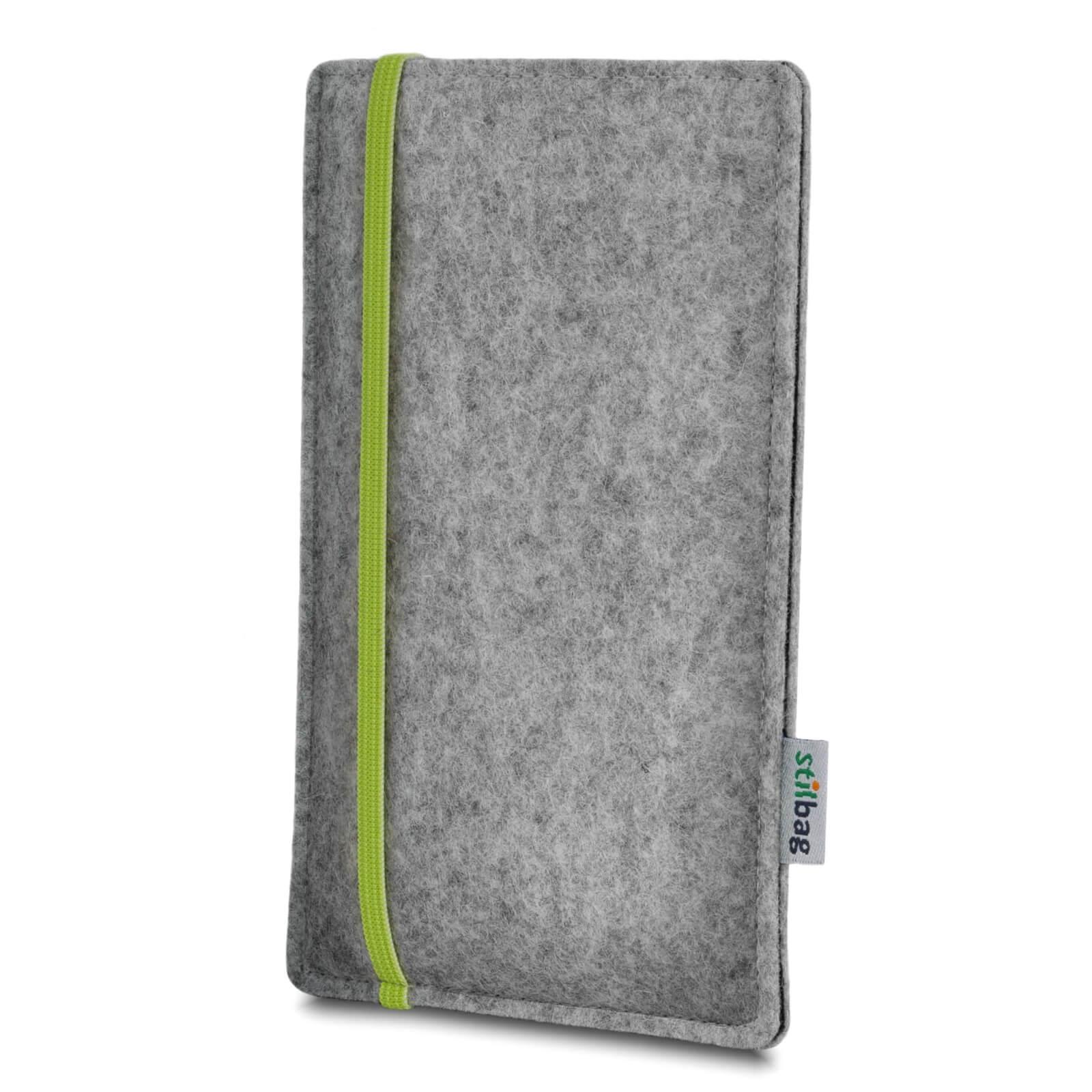 Stilbag-Feutre-Housse-mobile-Pochette-Etui-LEON-HTC-One-X-Plus-gris