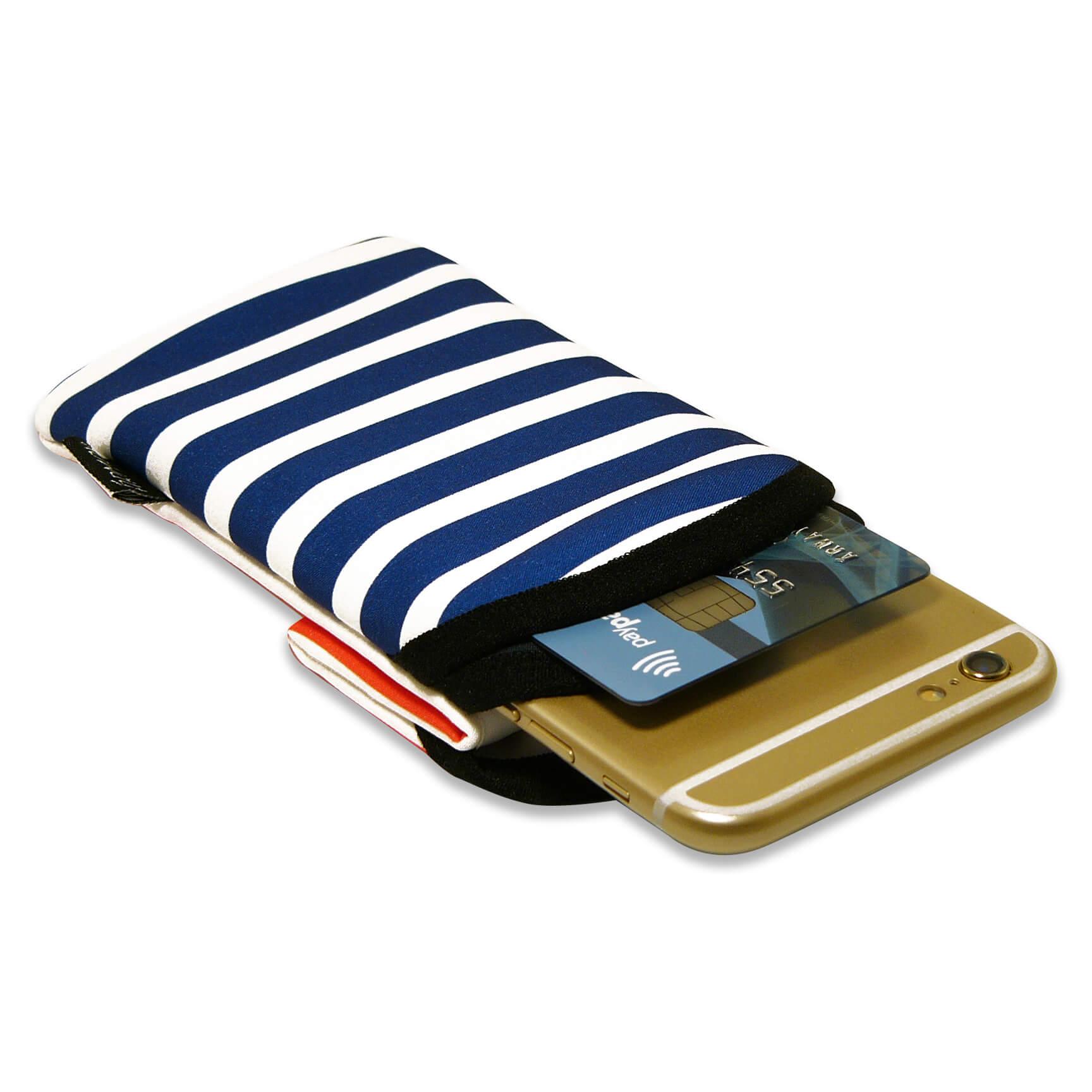 handy tasche apple iphone 6s plus h lle etui socke schutz kartenfach ninnu ebay. Black Bedroom Furniture Sets. Home Design Ideas